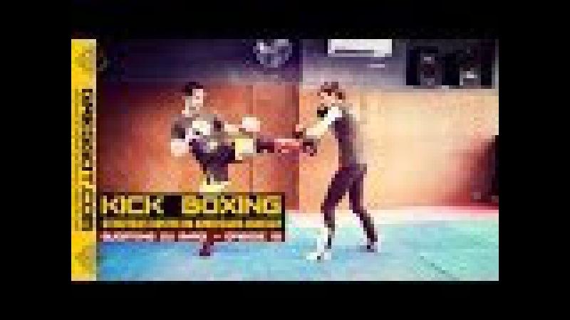Kick Boxing : stratégies contre un adversaire agressif