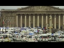 Protesting ambulance drivers call on French government to reconsider reforms
