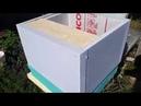 Инструмент пчеловода Самодельные ульи из пенополистирола Размеры Себестоимость