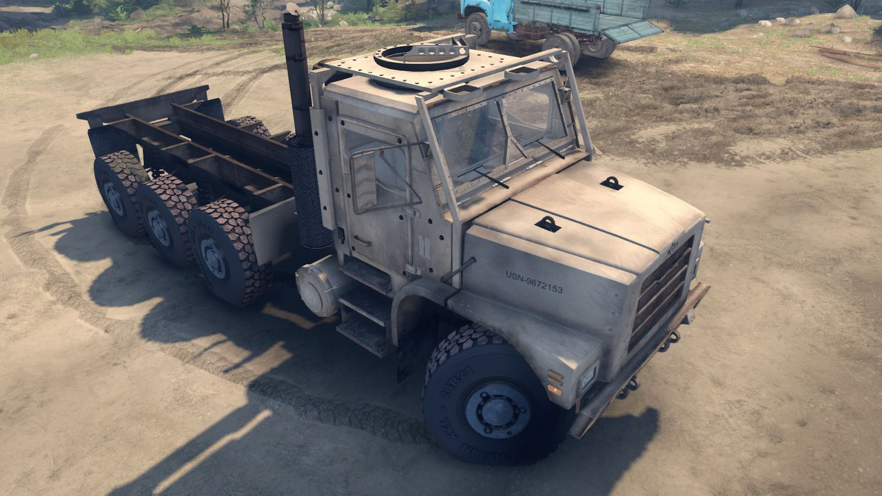 Oshkosh MTVR LHS 8x8 Final для Spintires - Скриншот 1