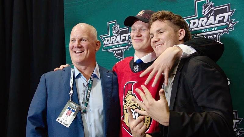 Brady Tkachuk mic'd up to continue family tradition