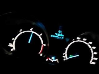 2014 Ford Fiesta 0-100 km. Acceleration (1.5 TDCI 75 Hp)