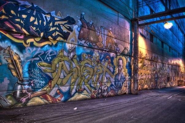 Программа с тегами граффити
