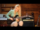 Deep purple - Smoke on the water. One of the most amazing riffs and guitar solos by Emily Hastings.