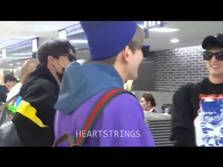 U-kiss  fancam @incheon airport  (30.09.18)