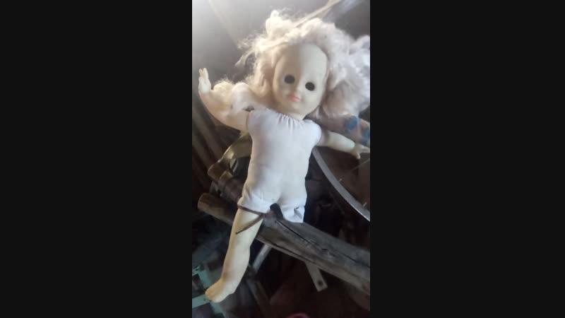 Кукла у меня ужасный голос 😰