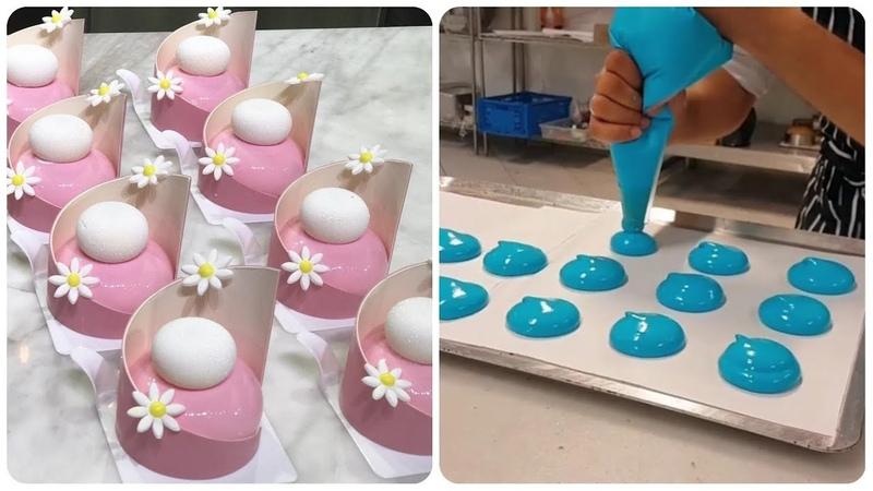 So Yummy! 😍 Оddly satisfying cake videos 🍰 Amazing Cake Art Decorating Compilation! Tasty desserts