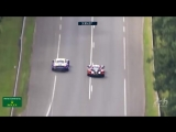 The battle between Fred Makowiecki and Sebastien Bourdais for second in the GTE Pro class