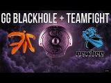Fnatic GG Blackhole + Teamfight vs. Newbee @ TI4 Group Stage