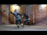 Бой на мечах без щитов