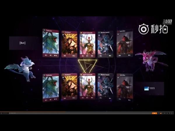 Китайский игрок слил интерфейс и карты Artifact