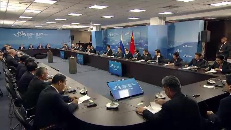 Встреча с участниками круглого стола по российско-китайскому межрегиональному сотрудничеству