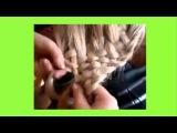 multi-strand braid . Широкая  МНОГОПРЯДНАЯ коса с ажурным краем