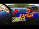 Ловля щуки Попали на щучье место ловля щуки в жару на воблеры твичингом на реке Томь