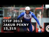 Gold Medal - 100m obstacles Jakub Pekny 15,31s CTIF Mulhouse 2013
