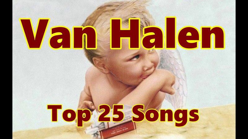 Top 10 Van Halen Songs (25 Songs) (David Lee Roth) (Sammy Hagar) Greatest Hits