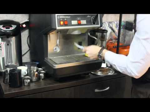 Чистка кофемашины и холдеров Серия тренингов бариста от сети кофеен ТМ MY COFFEE