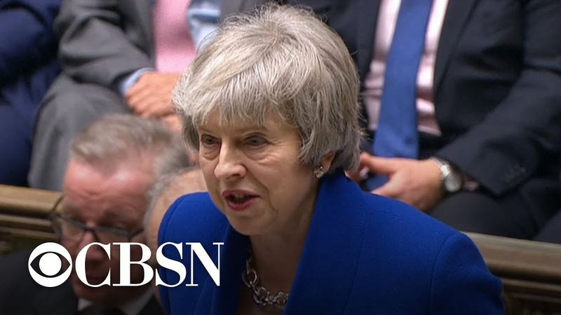 U.K. Prime Minister Theresa May survives no-confidence vote
