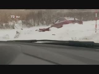 Последствия ДТП на трассе Тюмень–Омск