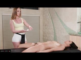Eliza ibarra & daisy stone aka catia blum [ lesbians &  massage / pose 69 , in oil , finger , cunnilingus]
