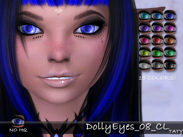 Dolly Eyes 08 by tatygagg