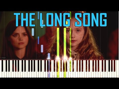 The Long Song (Wake Up) - Doctor Who [Synthesia Piano Tutorial]