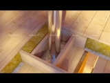 Дымоход Craft для банной печи