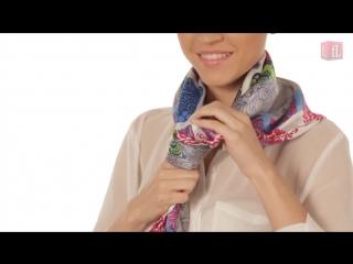 Мастер-класс - Шелковые платки Faberlic