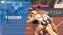 Laura Muir 2.33.92 Wins Women's 1000m - IAAF Diamond League Birmingham 2018