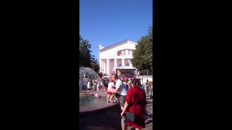 La plaza del Teatro (Kaluga)