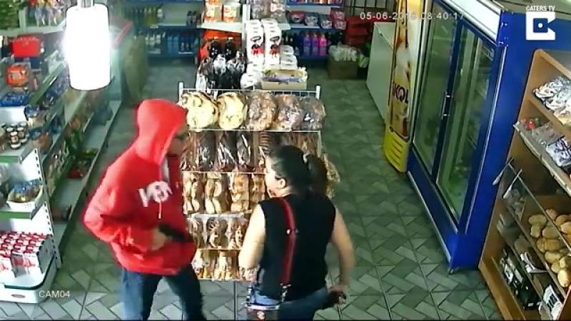 Robo armado a tienda en el multicultural Brasil - 2018