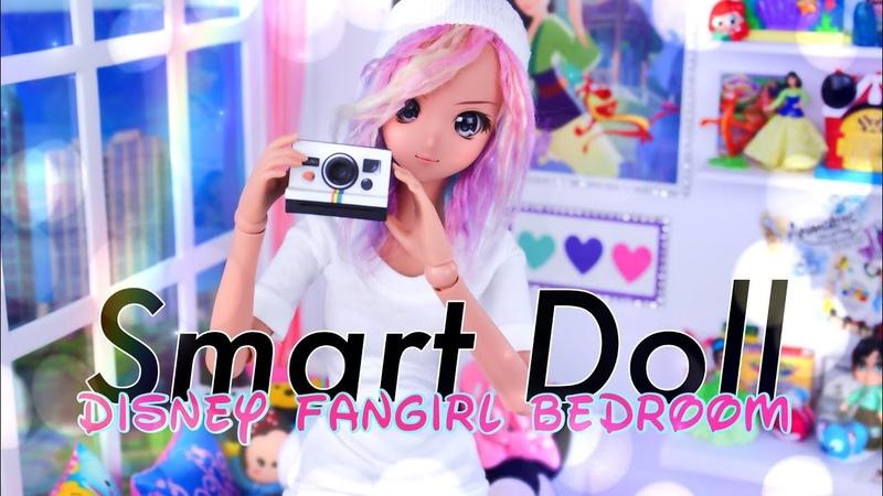 DIY How to Make Smart Doll Bedroom Disney Fangirl Room