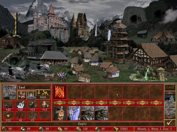 Герои меча и магии 3 новые города