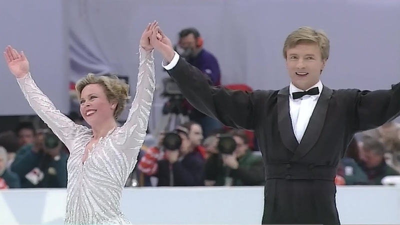 [4K60P] Jayne Torvill and Christopher Dean 1994 Lillehammer Olympic FD Lets Face the Music