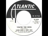 LaVern Baker &amp Jimmy Ricks - You're The Boss Atlantic #2090 1961 Popcorn R&ampB