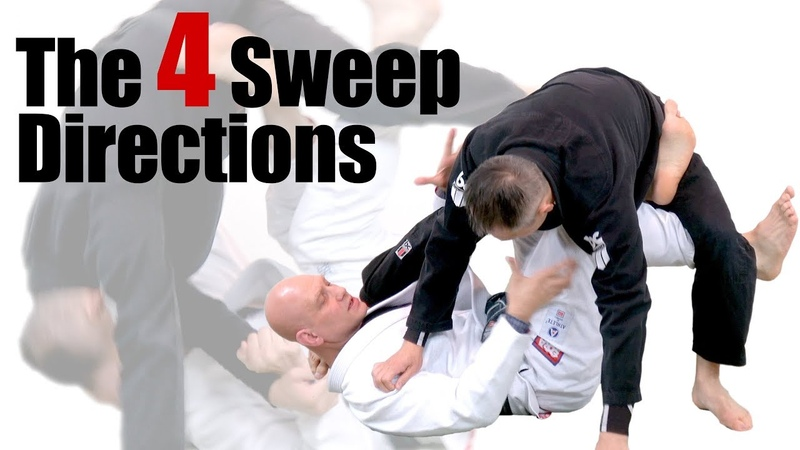 The 4 Directions of Every X Guard Sweep