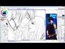 Stream=draw in sai=Eldarya Nevra and Oc part 2