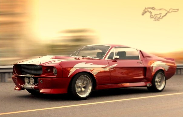 Shelby Mustang GT 500 1967