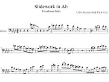 Urbie Green Trombone Solo Transcription SLIDEWORK IN Ab