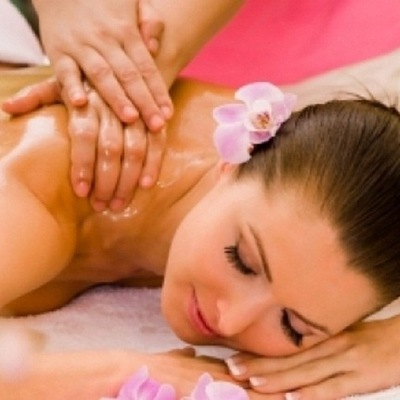 Успокаивающий массаж с переходом на секс