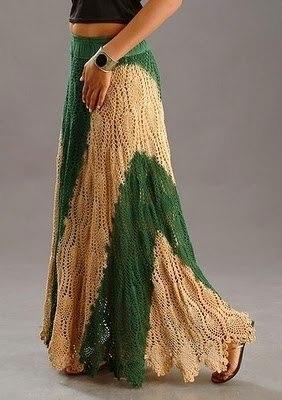 Красивая юбка крючком (6 фото) - картинка