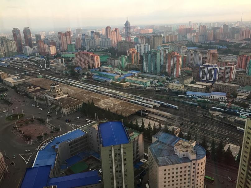Отчет о путешествии в Северную Корею Центральный вокзал Пхеньяна
