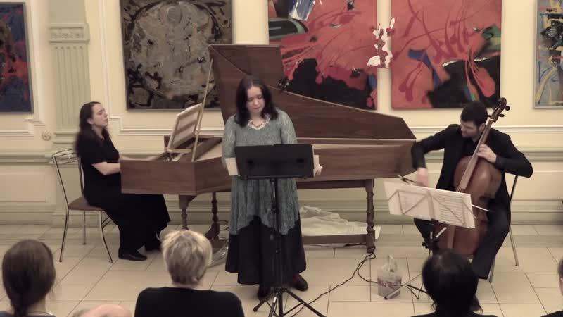 Antonio Caldara Pompe inutili Maddalena ai piedi di Cristo Maria Batova soprano E. Miller harp A. Krepak cello
