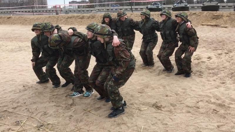 Молодежный военно-спортивный слёт «Честь! Слава! Победа!»
