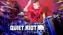 BANG YOUR HEAD (9 year old Drummer) Drum Cover by Avery Drummer
