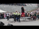 Одни пели на Красной площади, другие - на Плотинке)) Одни пели на Красной площади, другие - на Плотинке))  Ну, началось! Удачи н