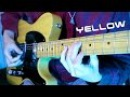 ♫ Yellow - Coldplay (Guitar & Bass cover)