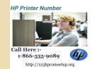 Get Top Notch Solution From Hp Printer Number 1 866 535 9089