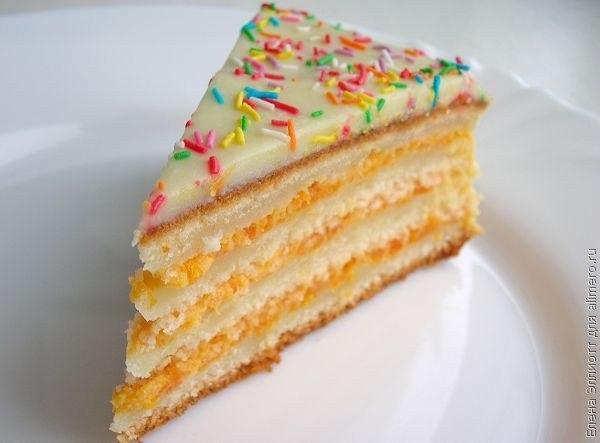Торт-манник фото