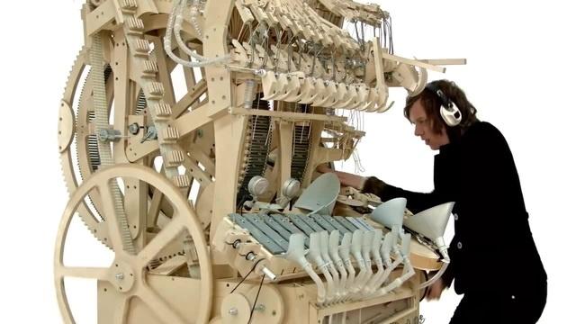 Музыкальный вариант машины Руба Голдберга / Wintergatan - Marble Machine tcnpublic